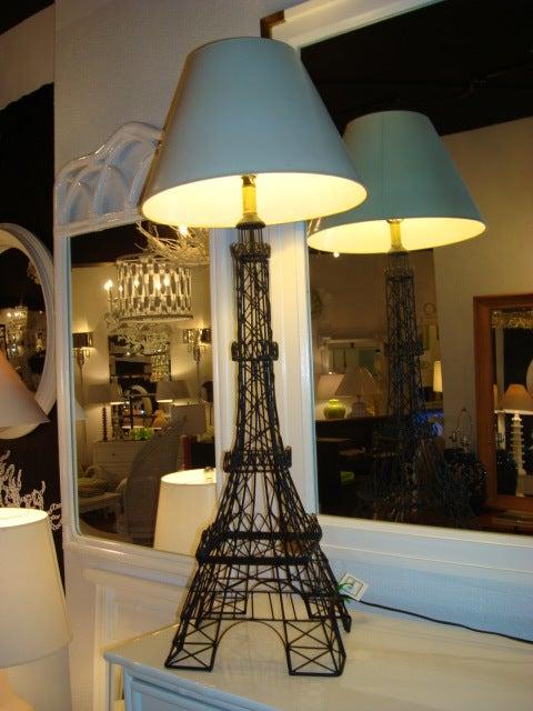 Vintage Eiffel Tower Lamp at 1stdibs