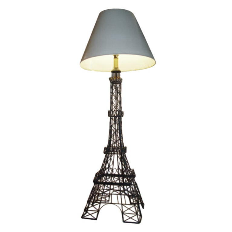 Vintage Eiffel Tower Lamp At 1stdibs