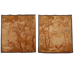 Pair of 19th Century Aubusson Tapestries, circa 1860