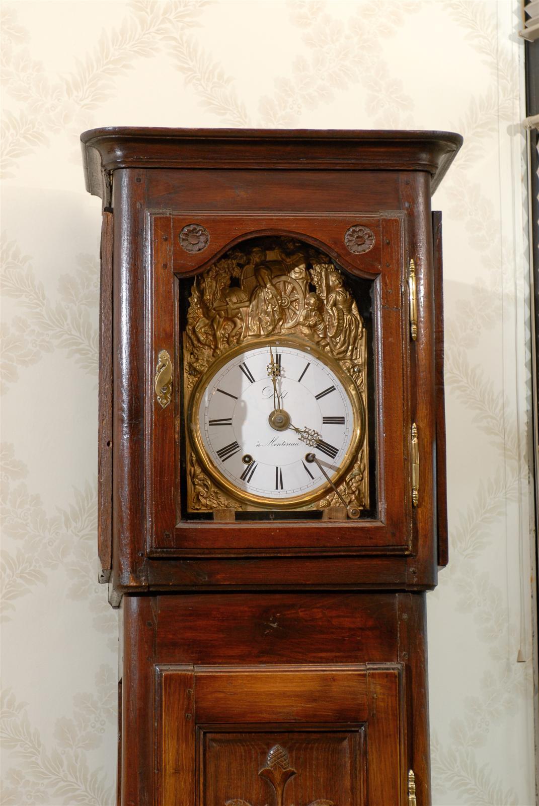 19th Century Tall Case Clock At 1stdibs