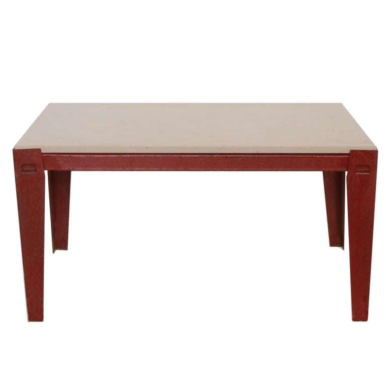 Jean prouv jules leleu coffee table at 1stdibs - Jean prouve coffee table ...