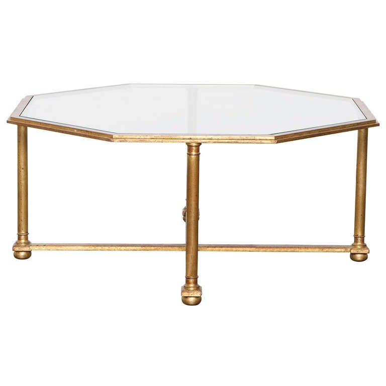 Maison Ramsay Octagonal Coffee Table Circa 1940 For Sale At 1stdibs
