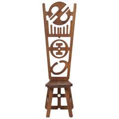 Alain Satie Sculptural Chair, circa 1973
