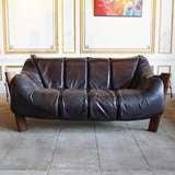 Leather Lounge Sofa by Percival Lafer, Brazil, Circa 1960 thumbnail 5