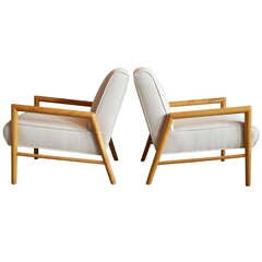 Pair of Lounge Chairs Designed by Leslie Diamond for Conant-Ball, Circa 1950