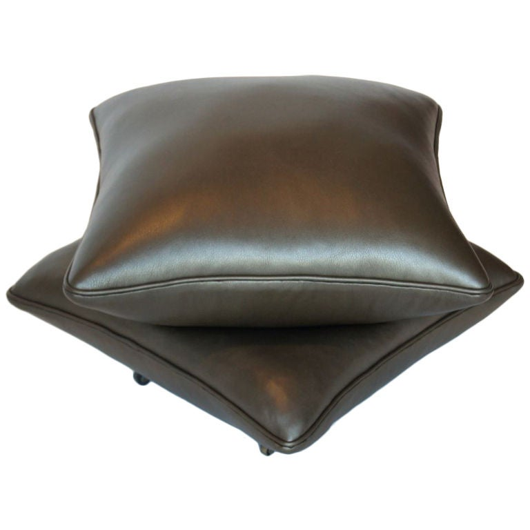 Leather Covered Stool Late 19th C At 1stdibs