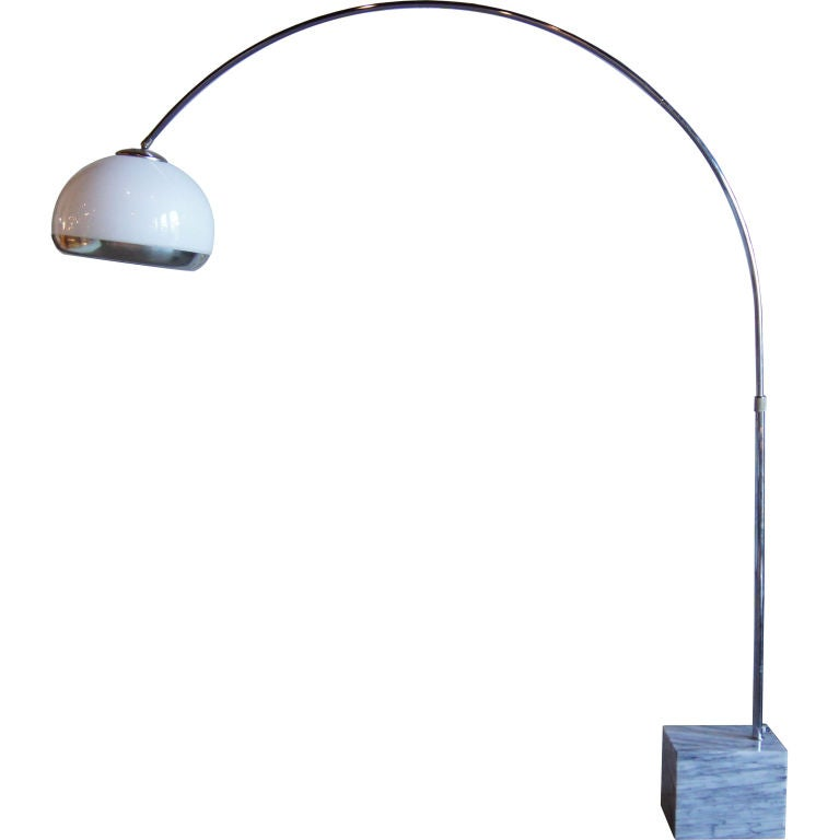 Arc Floor Lamp By Guzzini At 1stdibs