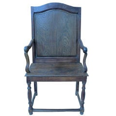 Outsized French Fauteuil
