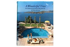 """""""A Wonderful Time"""" Book by Slim Aarons"""