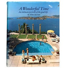 """A Wonderful Time"" Book by Slim Aarons"