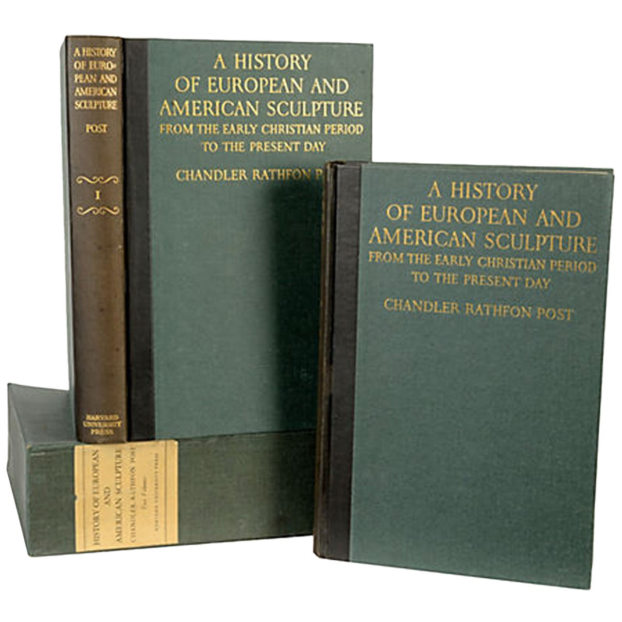 European & American Sculpture Signed First Edition