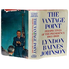 Vantage Point, Signed First Edition Book