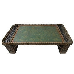 Red Chinoiserie Decorated T 244 Le Tray At 1stdibs