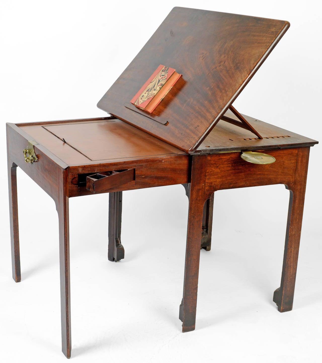 George iii mahogany architect s table circa 1775 for sale for Architecte desl definition