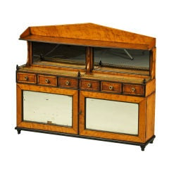 Miniature English Regency Chiffonier, circa 1810
