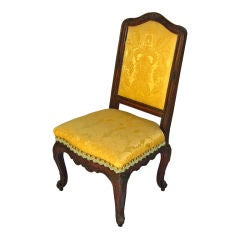 Regence Walnut Side Chairs, circa 1725