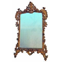 18th C Venetian Gilt Wood Mirror