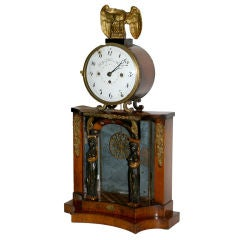 Early 19th Century Biedermeier Clock