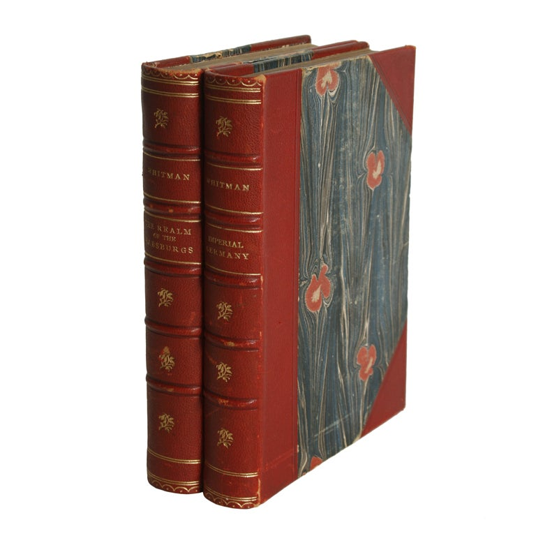 Pair of Antique Books by Sidney Whitman