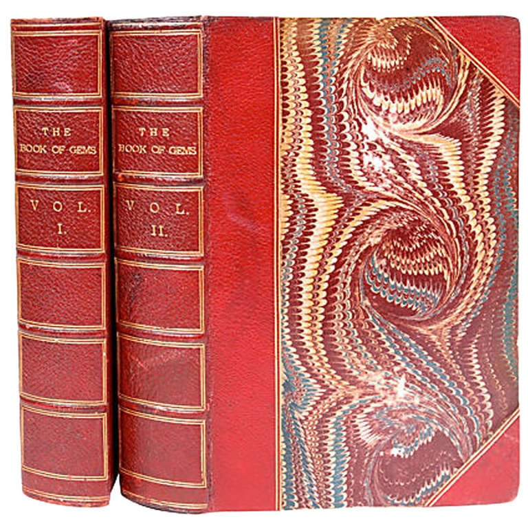 Pair of Book of Gems, 1st Eds For Sale