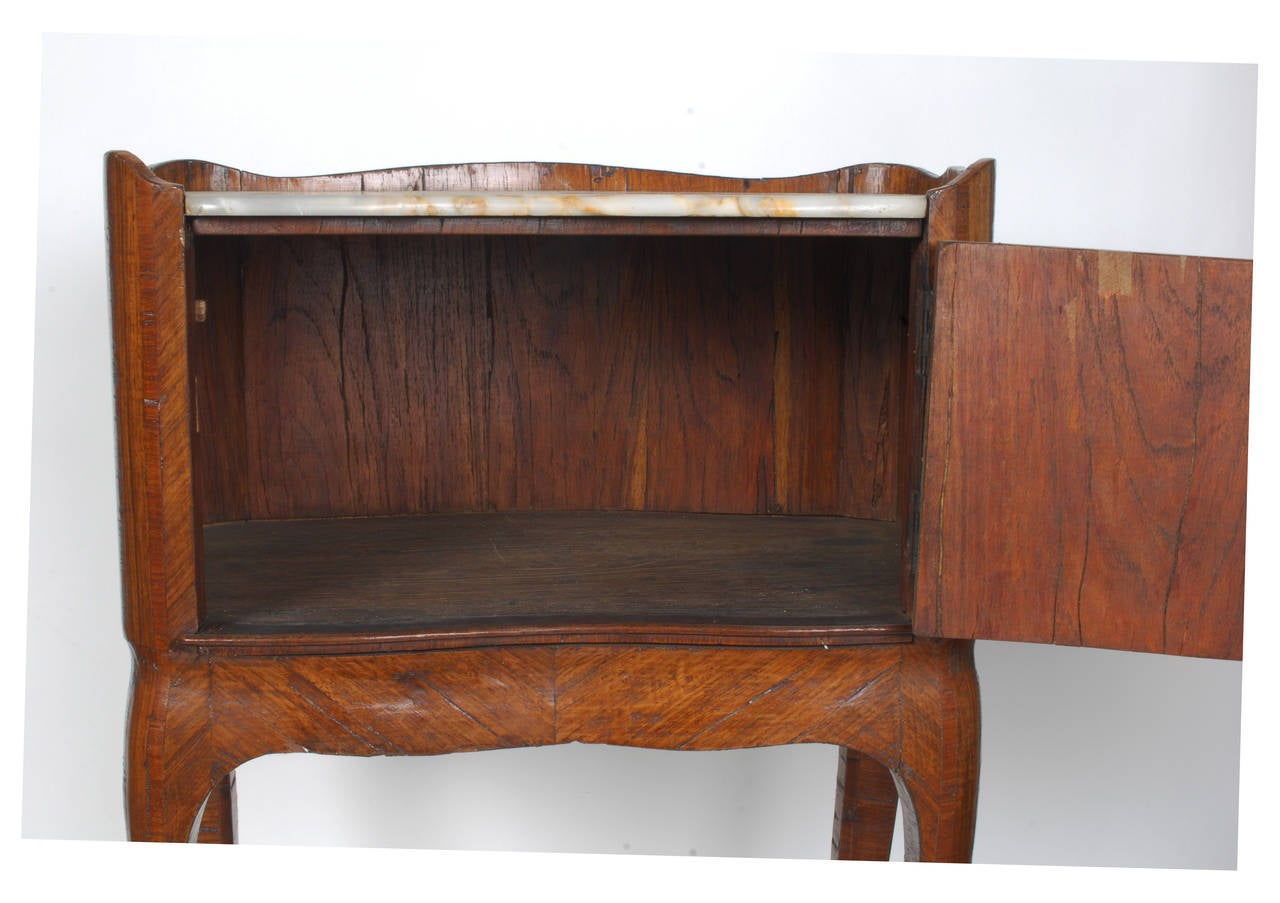 Louis xv parquetry side table circa 1770 for sale at 1stdibs for When did table 52 open
