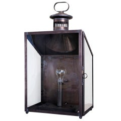 Large Simple Wall Lantern