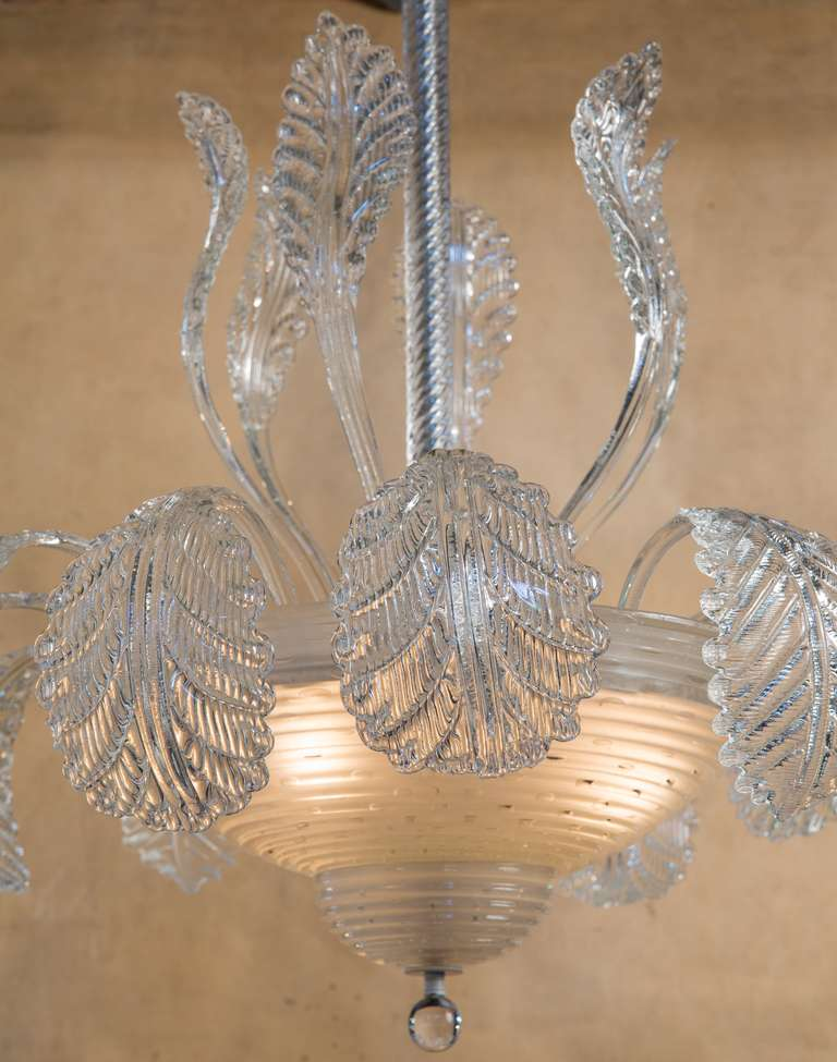 Unique Italian Murano Chandelier at 1stdibs