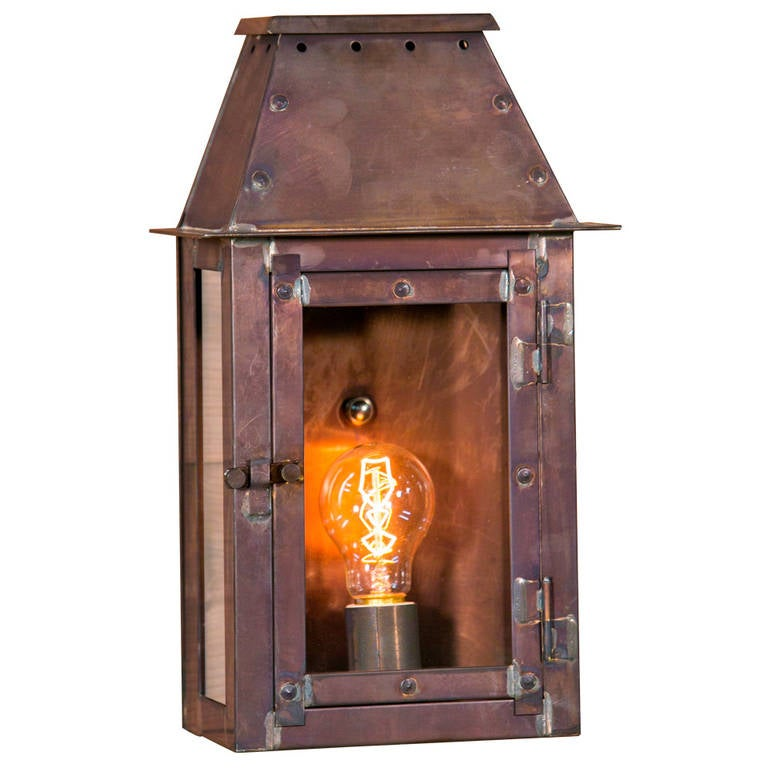 Wall Lantern Indoor : American Made Indoor/Outdoor