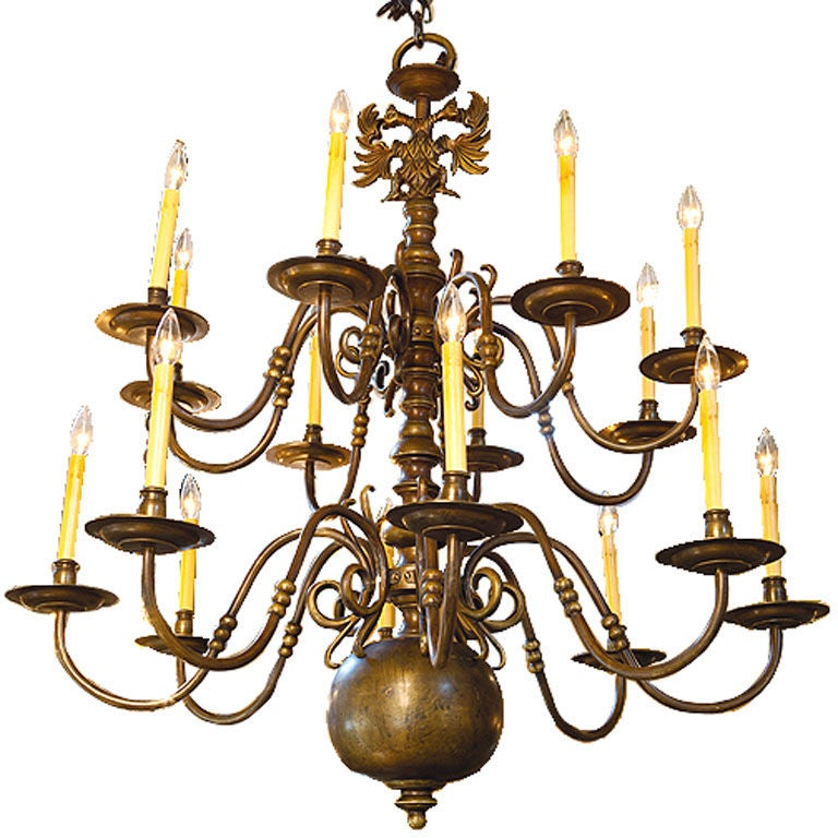 Monumental Flemish Chandelier At 1stdibs