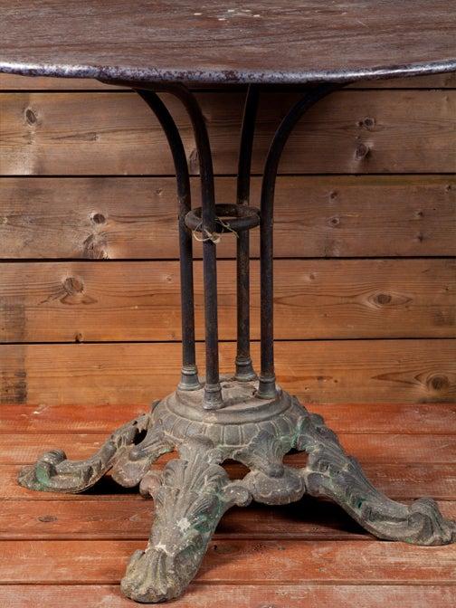 cast iron pedestal table base 3