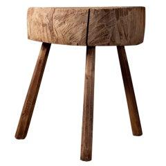 chunky butcher block/table