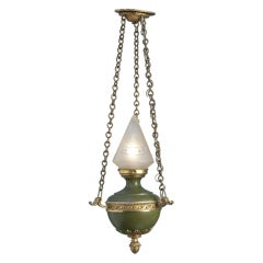 Empire Style Tole Hall Light