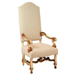 19th Century Os de Mouton Armchair