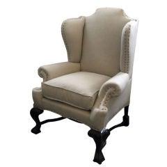18th Century Portuguese Wingback Chair