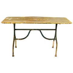 19th Century Painted Garden Table