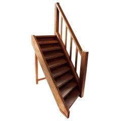 Vintage Wooden Stair Model