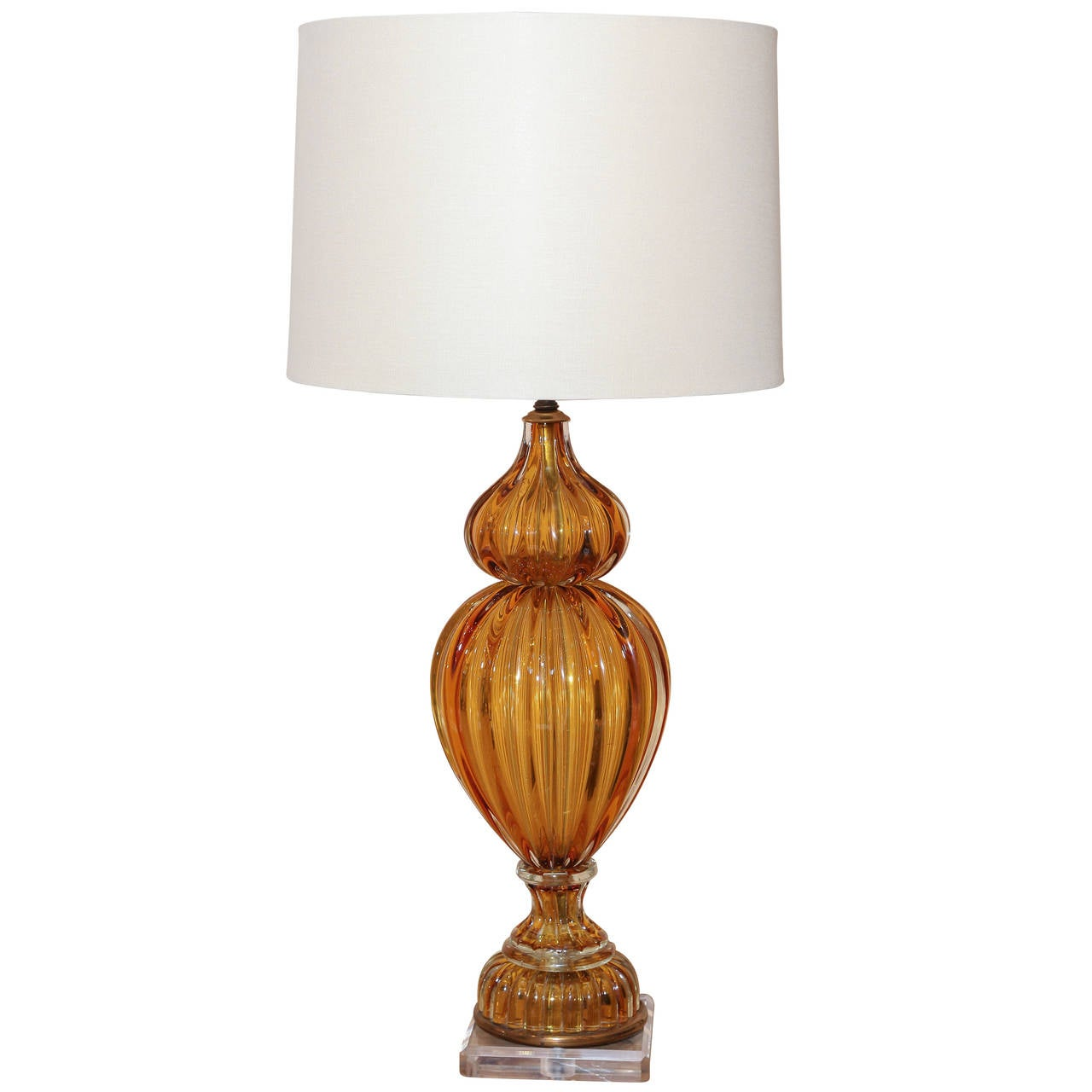 murano glass lamp for sale at 1stdibs. Black Bedroom Furniture Sets. Home Design Ideas