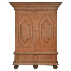 18th Century Swedish Baroque Cabinet