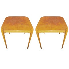 Pair Tolix Garden or Bistro Tables