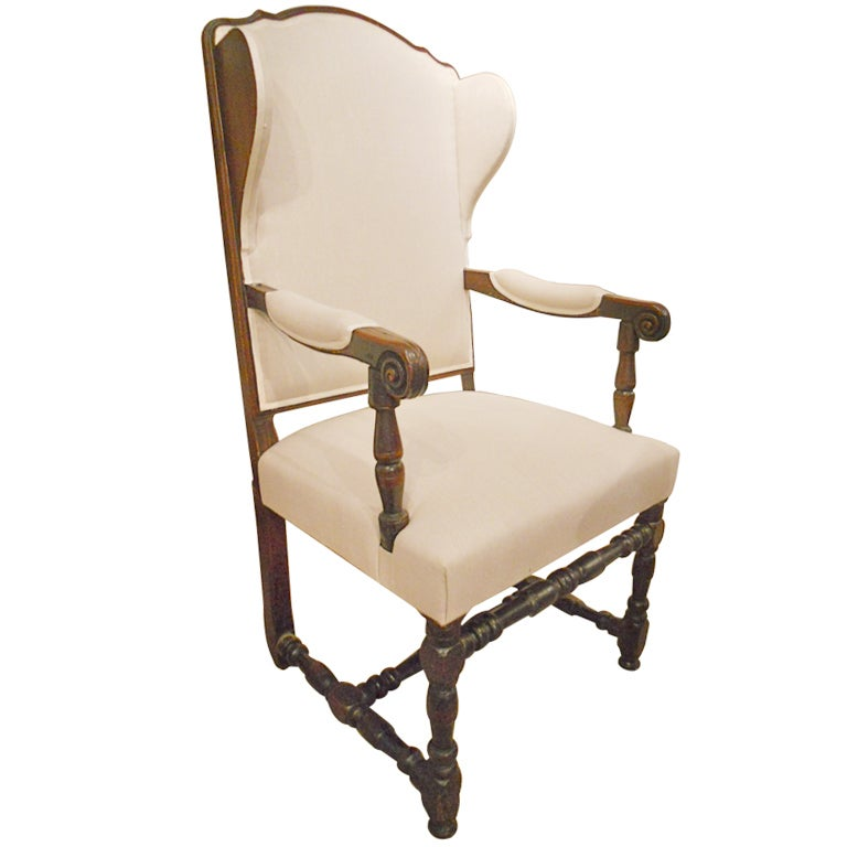 18th Century Louis XIV Wingback Chair At 1stdibs