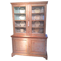 19th Century Swedish Painted Vitrine