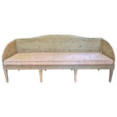 18th Century Swedish Gustavian Settee