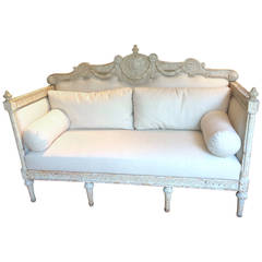 19th.Century Swedish Gustavian Sofa