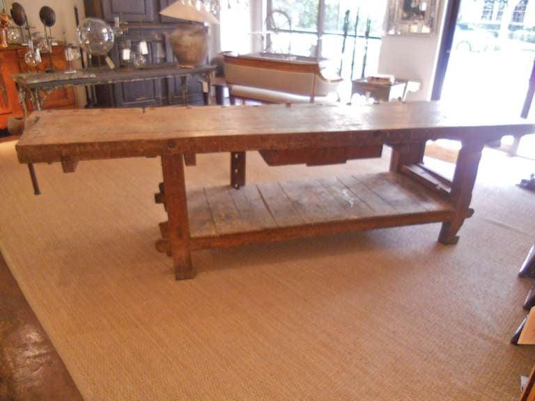 table etabli - 28 images - early 19th century elm etabli work