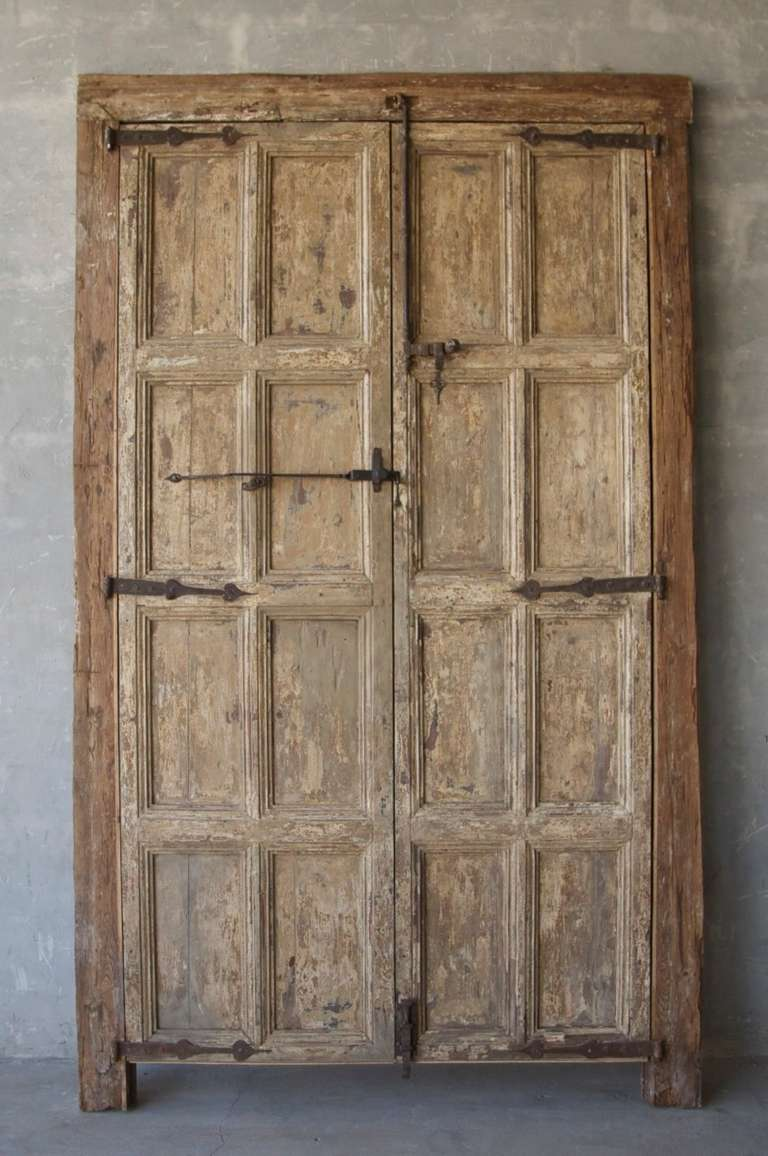 Pair Of 17th Century Entrance Doors At 1stdibs