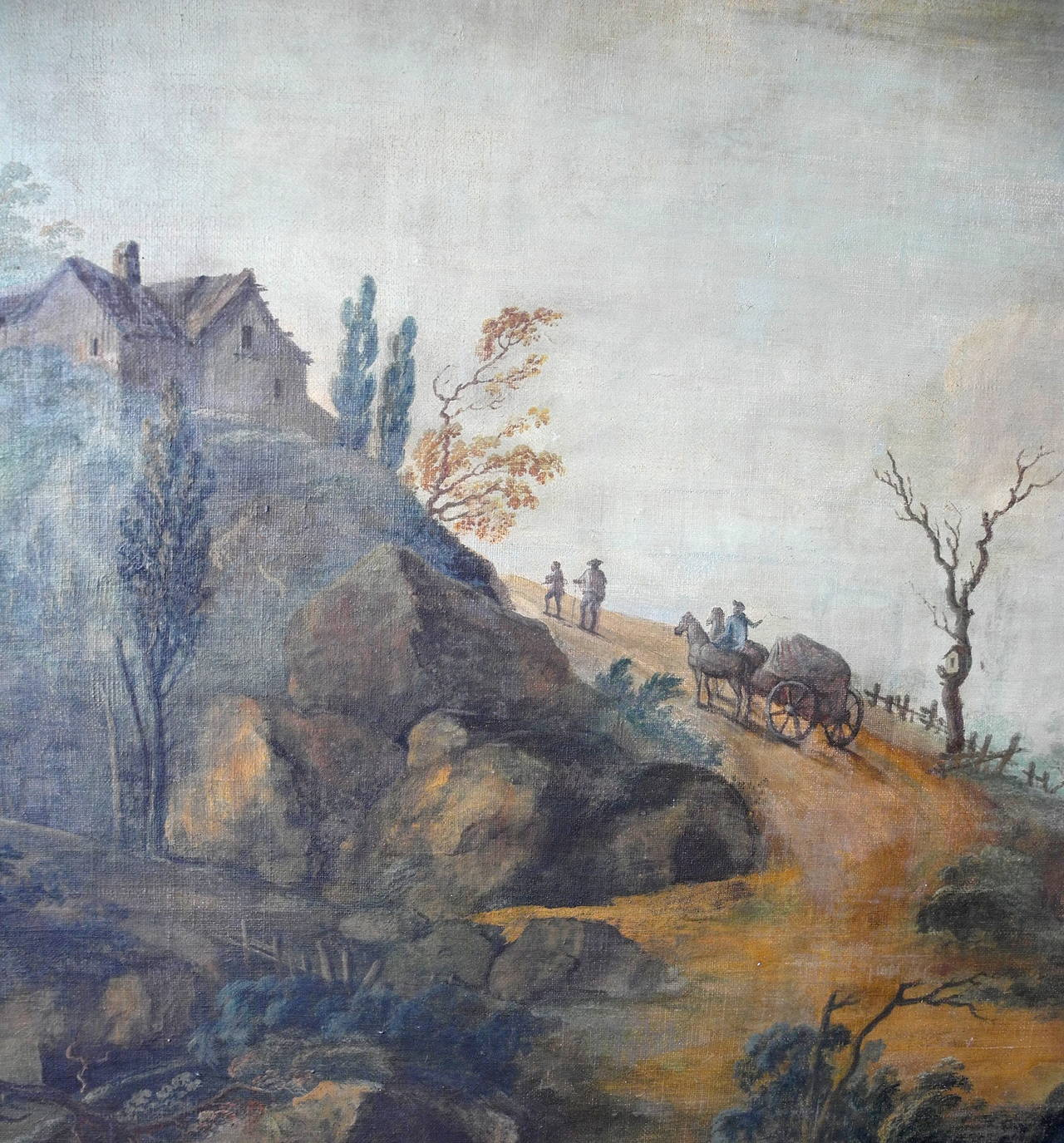 Single 18th Century Italian Landscape Painting At 1stdibs