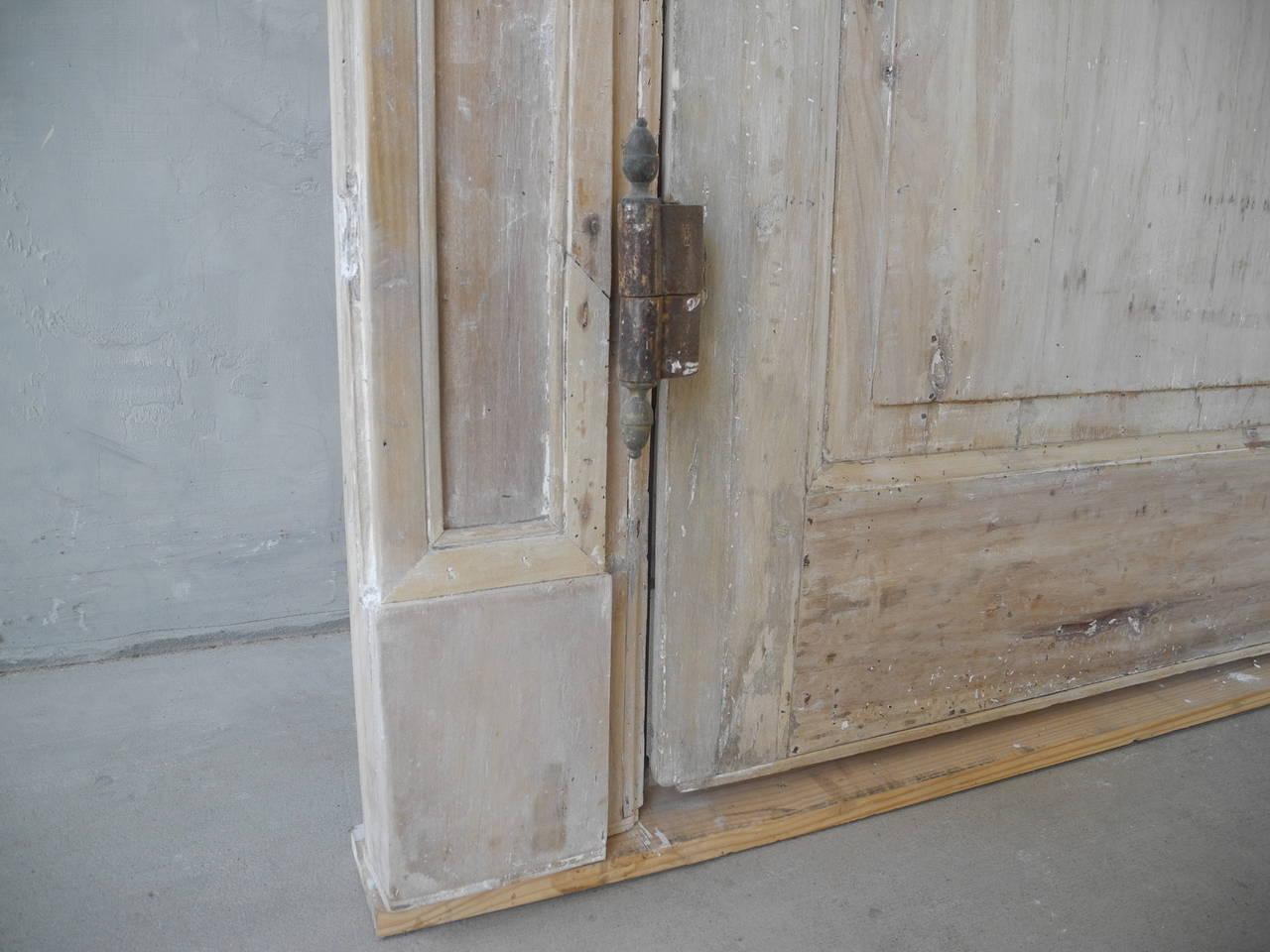 Pair of Antique 18th Century Doors with Frame  4