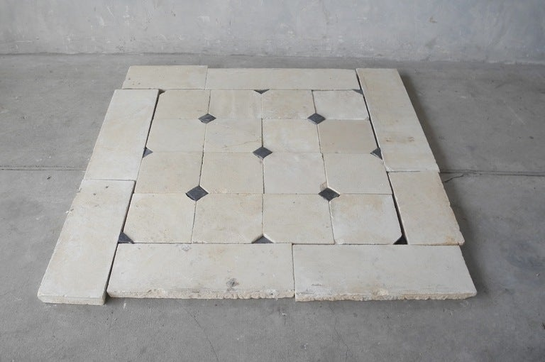 reclaimed 18th century bourgogne stone tapis for sale at 1stdibs. Black Bedroom Furniture Sets. Home Design Ideas