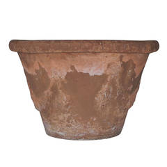 Set of 3 Italian Terracotta Planters
