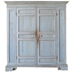 Antique 17th Century Wood Armoire from Italy